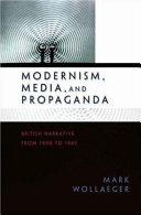Modernism  Media  and Propaganda
