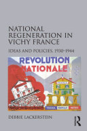 Pdf National Regeneration in Vichy France Telecharger
