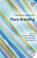 A Research Agenda for Place Branding