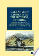 Read Online Narrative of a Journey in the Interior of China, and of a Voyage to and from that Country in the Years 1816 and 1817 For Free