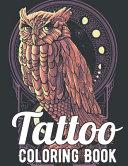Tattoo Coloring Book Book PDF