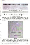 The Numismatic Scrapbook Magazine Book