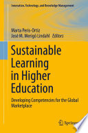 Sustainable Learning in Higher Education Book PDF