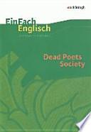 Dead Poets Society: Filmanalyse