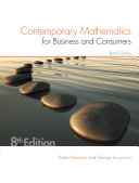 Contemporary Mathematics for Business & Consumers, Brief Edition