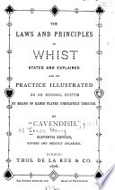 The Laws and Principles of Whist Stated and Explained Book