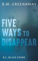 Ways To Disappear Pdf [Pdf/ePub] eBook
