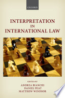 Interpretation In International Law
