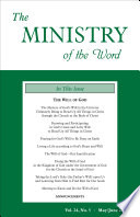 The Ministry Of The Word Vol 24 No 5