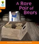 Books - A Rare Pair of Bears | ISBN 9780199118564