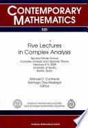 Five Lectures in Complex Analysis