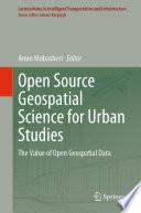 Open Source Geospatial Science for Urban Studies