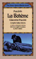 Puccini's La Boheme (the Dover Opera Libretto Series)