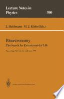 Bioastronomy