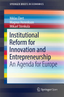 Institutional Reform for Innovation and Entrepreneurship Pdf/ePub eBook