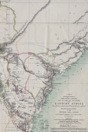 1870 Eastern Africa Map