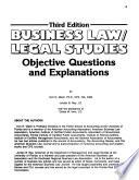 Business Law/legal Studies