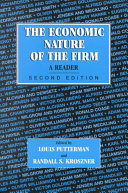 Pdf The Economic Nature of the Firm