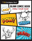 Blank Comic Book Book