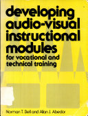 Developing Audio-visual Instructional Modules for Vocational and Technical Training