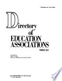 Directory of Education Associations