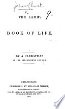 The Lamb s Book of Life  By a Clergyman of the Established Church