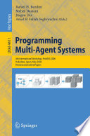 Programming Multi Agent Systems