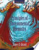 Principles of Environmental Chemistry Book