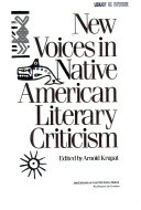 NEW VOICES NATIVE AMERN LIT