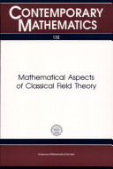 Mathematical Aspects of Classical Field Theory