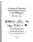 Creating and Managing Marine Protected Areas in the Philippines