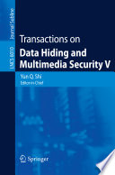 Transactions on Data Hiding and Multimedia Security V Book