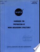 Handbook for Preparation of Work Breakdown Structures
