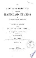 The New York Practice Book
