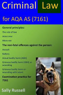 Criminal Law for Aqa As