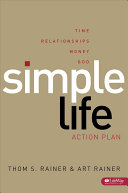 Simple Life Action Plan   Member Book Book