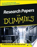 List of Dummies Research E-book