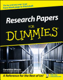 Research Papers For Dummies Pdf/ePub eBook