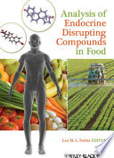 Analysis Of Endocrine Disrupting Compounds In Food Book PDF