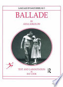 Ballade by Anna Sokolow