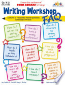 Writing Workshop FAQ  ENHANCED eBook