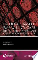 Evidence Based Emergency Care Book PDF