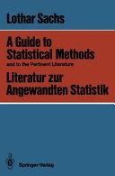 Literatur zur Angewandten Statistik