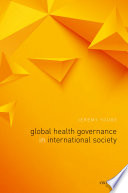 Global Health Governance In International Society