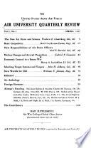 Air University Quarterly Review