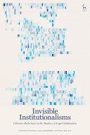 Invisible Institutionalisms Pdf/ePub eBook