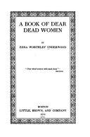 A Book of Dear Dead Women