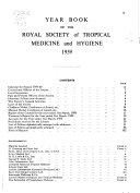 Year Book   Royal Society of Tropical Medicine and Hygiene