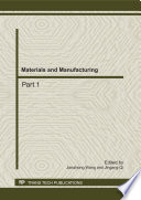 Materials And Manufacturing