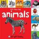 Bright Baby Lift the Tab  Animals